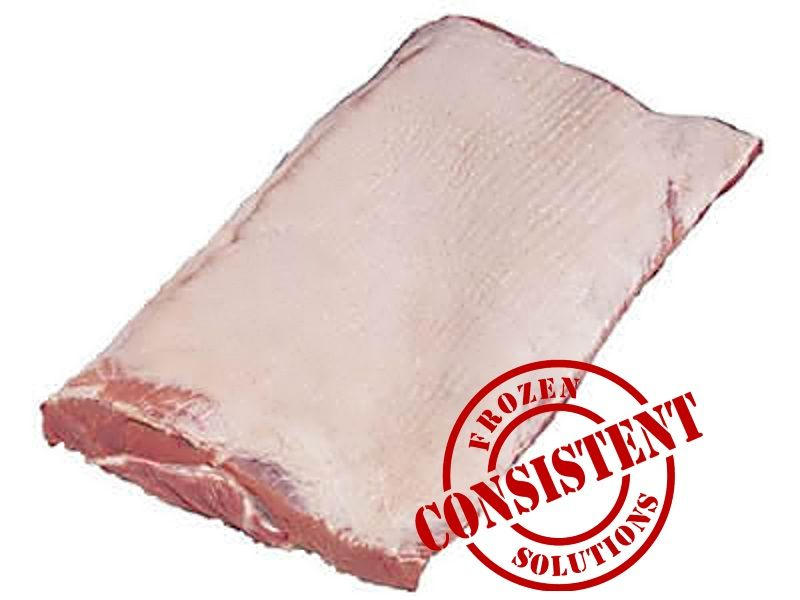 how to clean pork belly skin