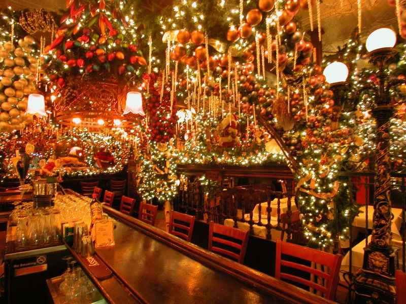 Restaurants around the world that nailed their christmas